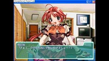 คลิ๊ปโป๊ คลิ๊ปเสียว หนังโป๊การ์ตูนเลียนแบบเกมส์ญี่ปุ่นสาวน้อยน่ารักน่าเย็ดโดนกระหน่ำซอยเสียงหลง