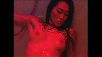 beautiful Tolly Cristall originating in Asia is fucking in the shower