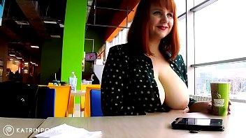 Katrin porto - flashing big tits an..