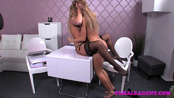 Femaleagent when agents collide sexual sparks will fly 4
