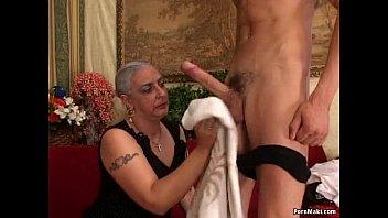 Embarrassed by male stripper