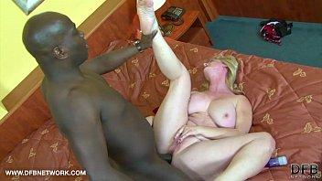 Big tits granny wants black cock cu..