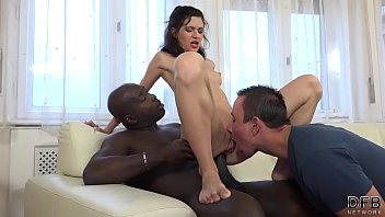 Cuckolding Wife with BBC while Hubby Pussy Licking