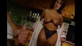 Lesbian anal creampie threesome