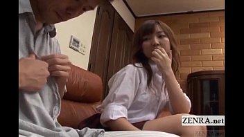 Subtitled cfnm japanese schoolgirl ..