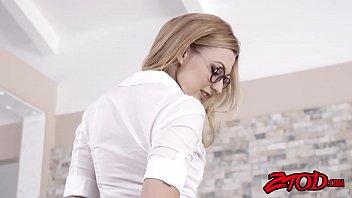 Lovely blonde schoolgirl alexa grace getting dr...