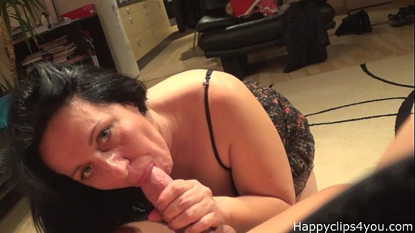 Mature sensual blowjob