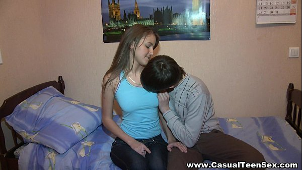 Casual teen sex dreams come true and he fucks this cutie 8