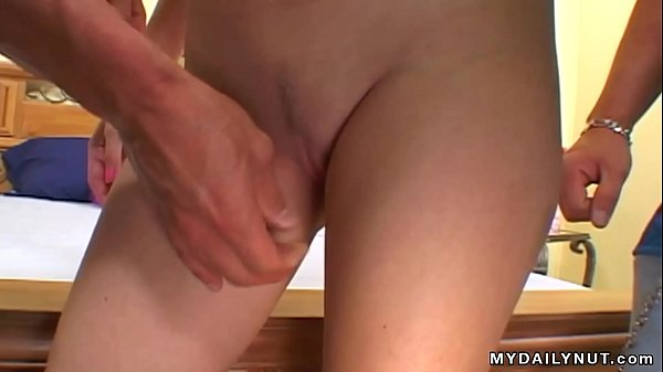 Hidden cam filming a man fucking a transsexual in the country