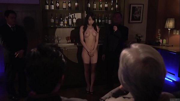 Subtitled japanese kurea hasumi wife slave auction stripping