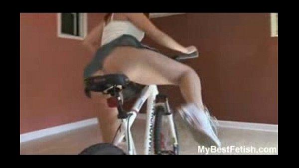 Upskirt And Ass Worship On Bicycle  Mybestfetish- Free -9577