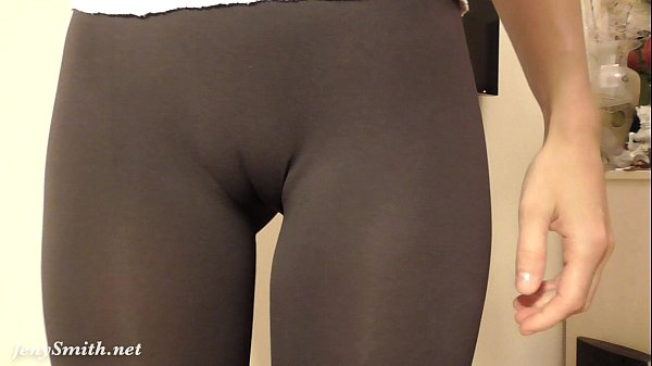 The amusing tight shorts camel toe turns!
