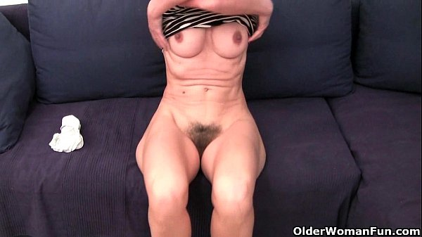 French Granny Emanuelle Loves Cleaning And Masturbating Thumbnail