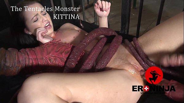 The Tentacles Monster Kittina Ivory - Xvideoscom-3242