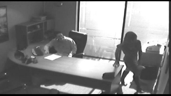 image Office tryst gets caught on cctv and leaked