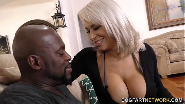 Cougar hungry for big black cock