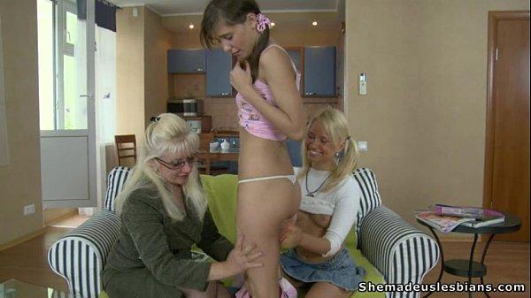 Mature Women Seducing Young Woman Video Porn