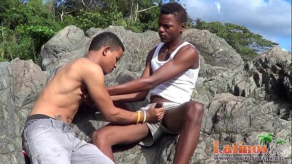 Brown Skinned Latin Twinks Pop A Boner Outdoors