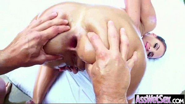 (phoenix marie) Sexy Girl With Big Oiled Ass Take It Deep In Her Behind mov-24