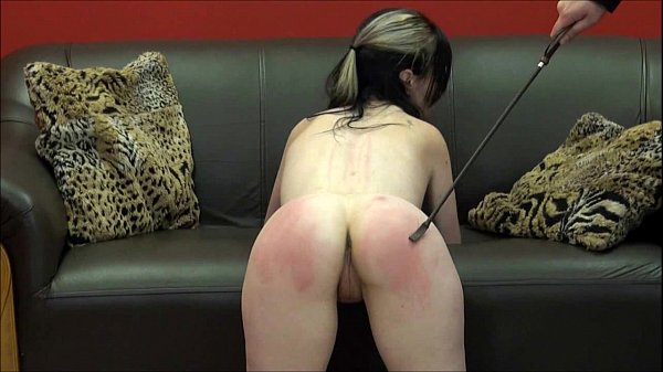 Faes bare ass spanking and corporal punishment of striped am - 1 part 4