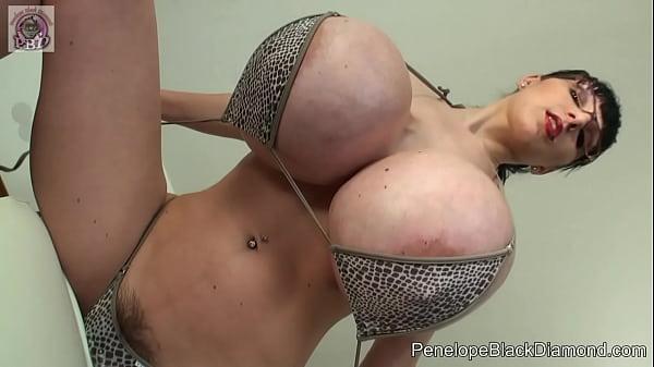 Sexy pornstar in bikini