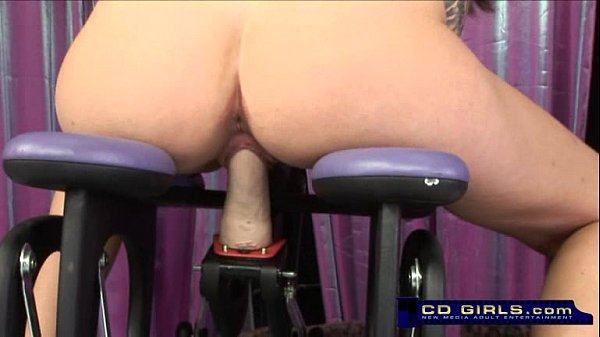 Amateur Billy Bales Rides The Monkey Rocker Sex Machine -3305