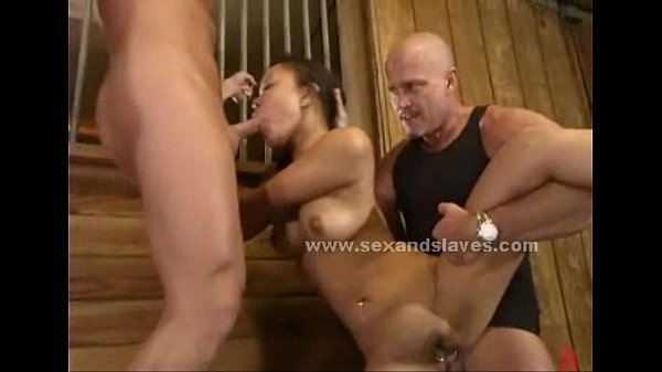 Sex slave forced to fuck in violent sex