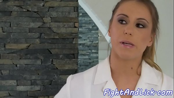 Glamour babe fingered after fighting