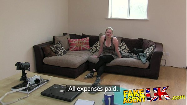 10 min porn FakeAgentUK Tight amateur pussy causes agents cock to blow