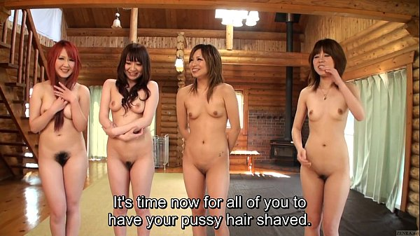Subtitled japanese amateur naked body check pubic hair focus 4