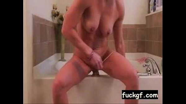Horny cam slut dildos her asshole on webcam 9