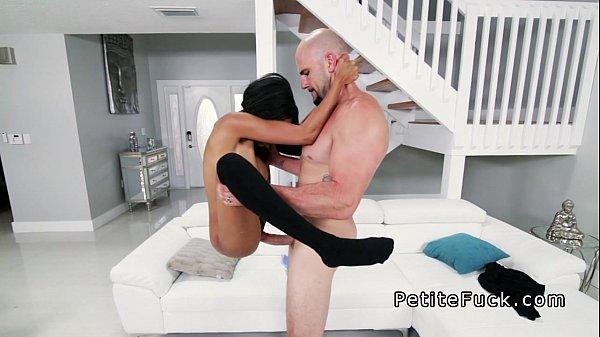 7 Min PetiteFuck Busty Ebony Babe Hardcore Fuck With Huge Dick