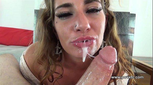 Pov sloppy deepthroat