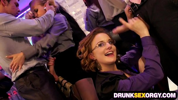 Drunken orgy party video clips