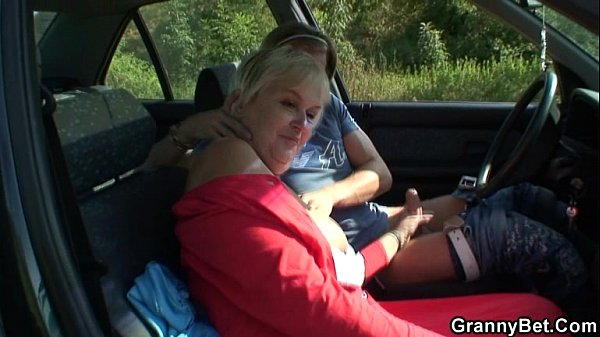 Granny Gets Screwed In The Car - Xvideoscom-3642