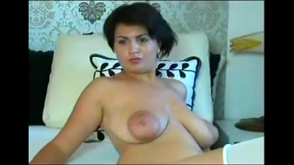 Milf With Huge Boobs And Big Areolas Teasing My X-Mas -5637