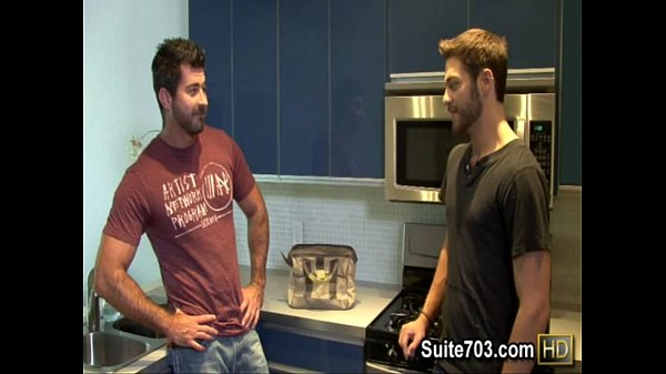 Gay plumber Berke gets humped by Tommy at work only on Suite 4 min Thegayman