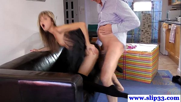 image Euro amateur in tutu pussyfucked by old guy
