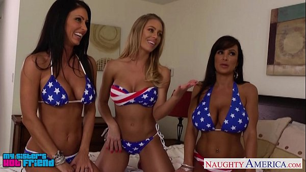 9 min Great america girls nicole aniston jesica jaymes and lisa ann having some fun