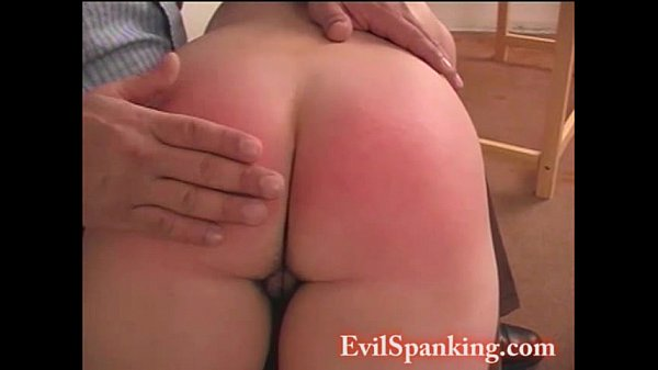 Punish amateur homemade hot girl spanks her