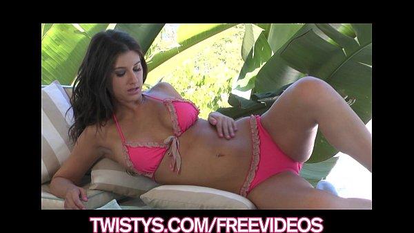 Twistys bikini clad blonde aaliyah love masturbates 7