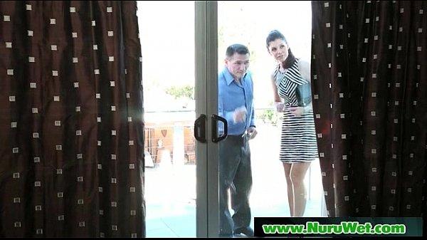 Nuru Massage Sex Video With Busty Asian Masseuse 22