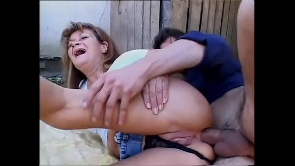 Red haired milf anal