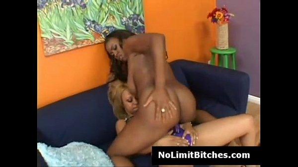 Black lesbian riding strapon-3065