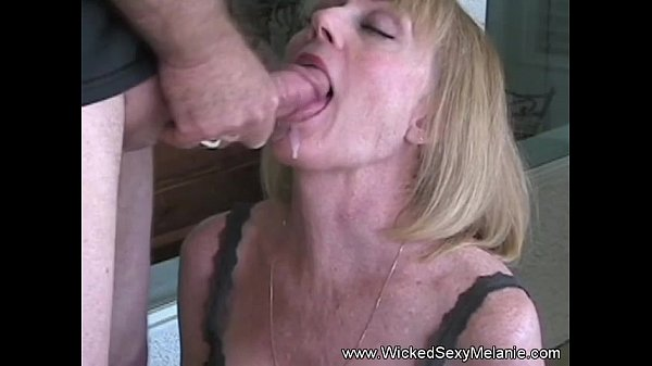 Nasty milf facial