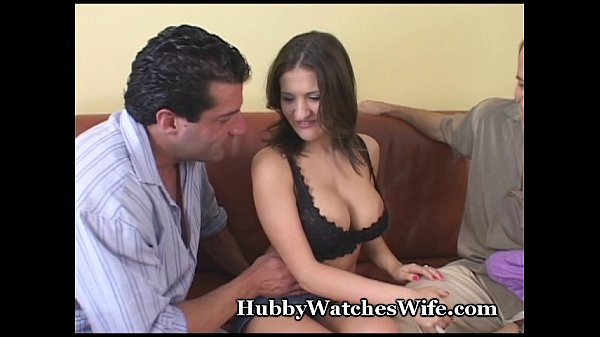Hubby watches wife.com