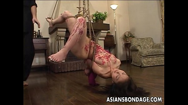 Japanese tied up wax playdildonose clipclothes pegs tied upside downbmw 3