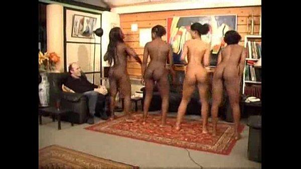 Ebony nude dance