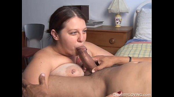 Big tits eat cum