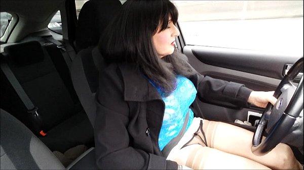 Ladyboy hoe sucks and rides